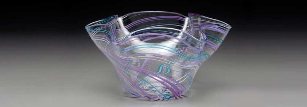 Trish Dalto, Purple and Blue Cane Bowl